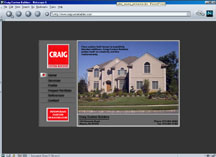 screen shot of Craig Custom Builders